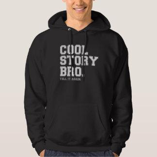 Cool Story Bro.-white/gray Sweatshirts
