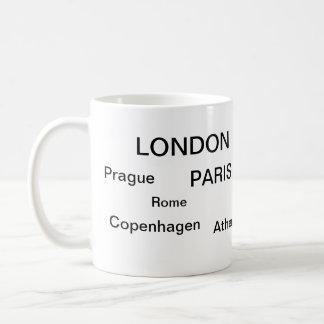 Cool stuff basic white mug