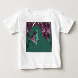 Cool Teal And Pink Dragon Tshirt