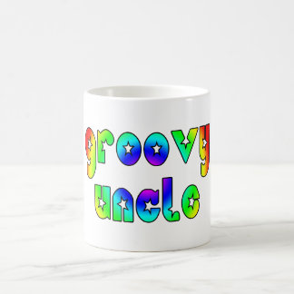 Cool Uncles Birthdays & Christmas : Groovy Uncle Basic White Mug