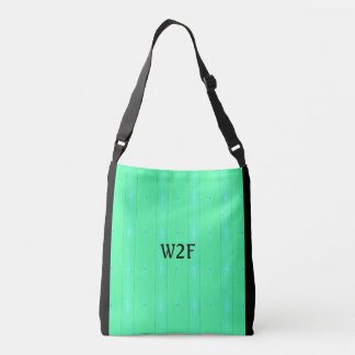 "Cool ""W2F Neon Green Seamless Pattern Tote Bag"