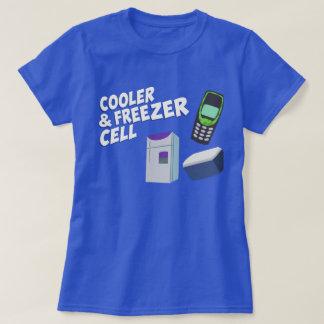 Cooler, Cell & Freezer T-Shirt