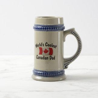 Coolest Canadian Dad Beer Steins