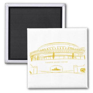 Cooper Music Hall Square Magnet