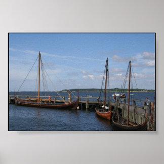 copenhagen ships poster