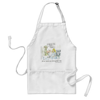 Cordless Baby Funny Cards Tees Mugs & Gifts Standard Apron