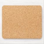 Cork texture mouse pad