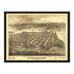 Coronado Beach San Diego California (1880) Stretched Canvas Print