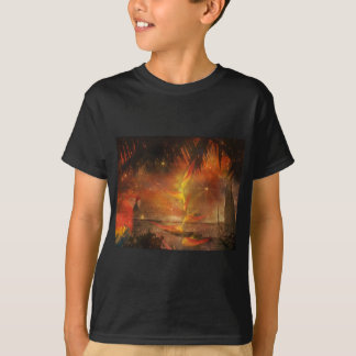 Costa Rica - Parrots, Sand & Tropical Beaches T-shirts