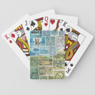 Countryside Landscape Playing Cards, Boho Travel Deck Of Cards