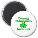 County Monaghan, Ireland 6 Cm Round Magnet