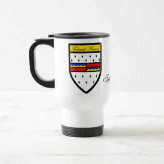 County Tipperary Map & Crest Mugs