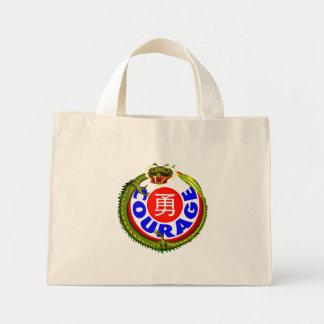 Courage Dragon Mini Tote Bag