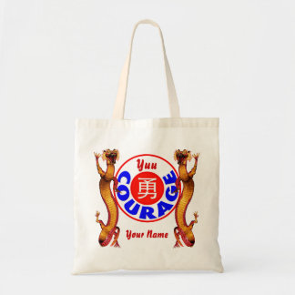 Courage - Yuu Dragon Budget Tote Bag