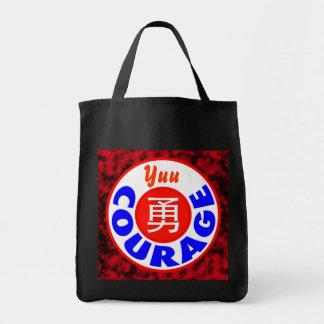Courage - Yuu Grocery Tote Bag