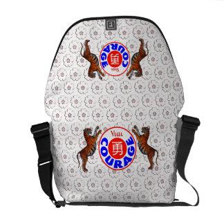 Courage - Yuu Tiger Messenger Bags