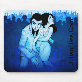 Cover in the Crowd Mouse Pad