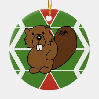 Covey Logic Beaver Chevron Ornament