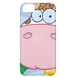 Cow Cartoon Character iPhone 5C Case