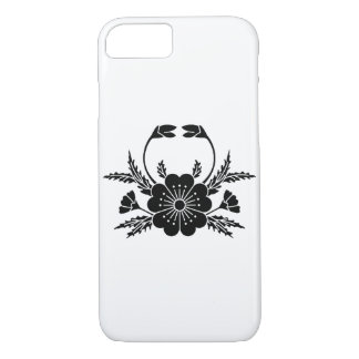Crab-shaped cherry blossom iPhone 7 case
