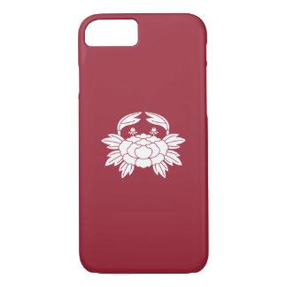 Crab-shaped peony iPhone 7 case
