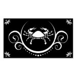 crab sophistications pack of standard business cards