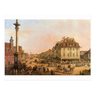 Cracow Suburb seen from the Cracow Gate Postcard
