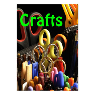 Crafts - handmade pack of chubby business cards