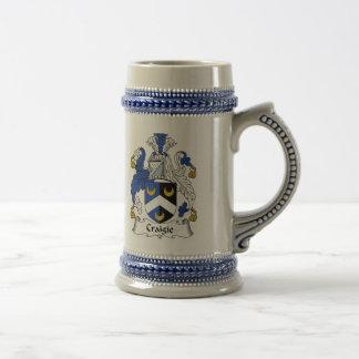 Craigie Coat of Arms Stein - Family Crest Beer Steins