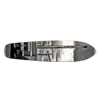 crane board one 19.7 cm skateboard deck