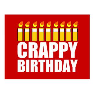 Crappy Birthday Postcard