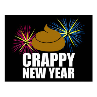 Crappy New Year Postcard