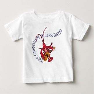 Crawfish Blues Band Guitar Player Tshirt