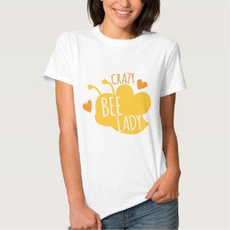 Crazy Bee lady Tshirts