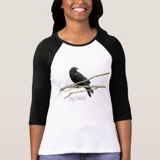 Crazy Crow Lady Shirt