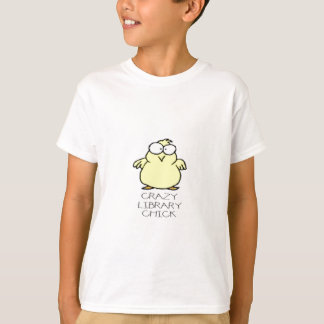 CRAZY LIBRARY CHICK.jpg T Shirts