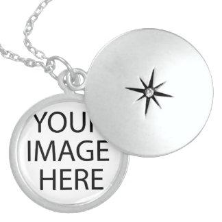 Create your own Birthday Round Locket Necklace