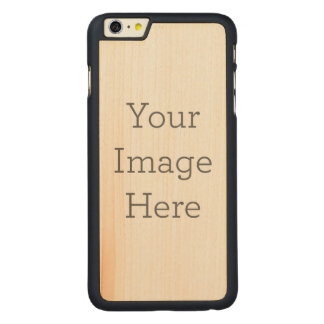 Create Your Own Carved® Maple iPhone 6 Plus Case