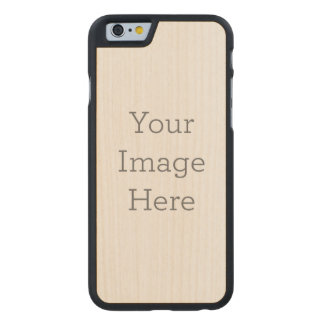 Create Your Own Carved® Maple iPhone 6 Slim Case