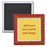 Create Your Own Magnet (cranberry)