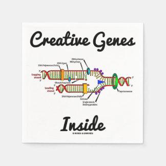 Creative Genes Inside (DNA Replication) Disposable Napkin