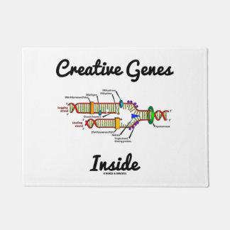 Creative Genes Inside (DNA Replication) Doormat
