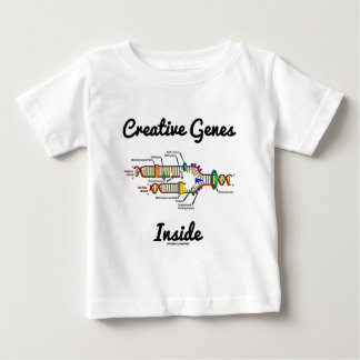 Creative Genes Inside (DNA Replication) T-shirts