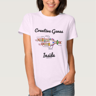 Creative Genes Inside (DNA Replication) Tshirts