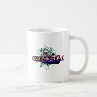 Creek Freak Basic White Mug