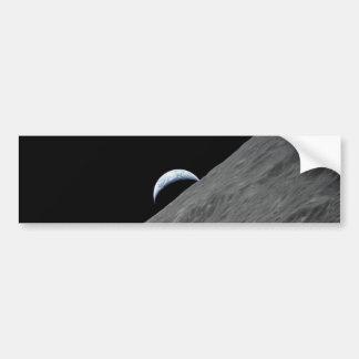 Crescent Earth Bumper Sticker