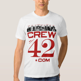CREWof42.com fitted T for hunks T-shirt