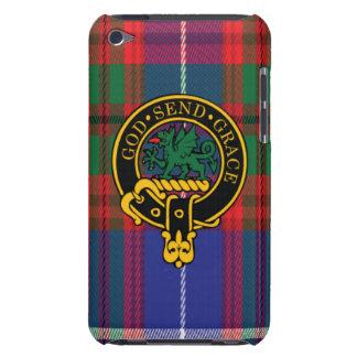 Crichton Scottish Crest and Tartan iPod Touch4 iPod Case-Mate Case