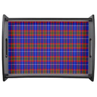 Crichton Scottish Tartan Serving Trays