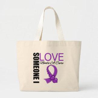 Crohn's Disease Someone I Love Needs A Cure Jumbo Tote Bag